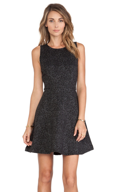 Joie Glynnis B Mini Dress in Caviar