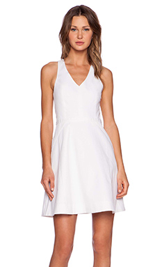 Joie Aurina Dress in Porcelain