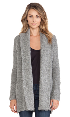 Joie Solome Cardigan in Heather Grey