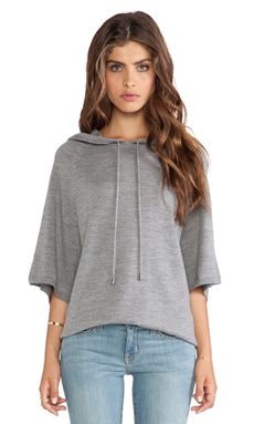 Joie Esmelle Poncho in Heather Grey