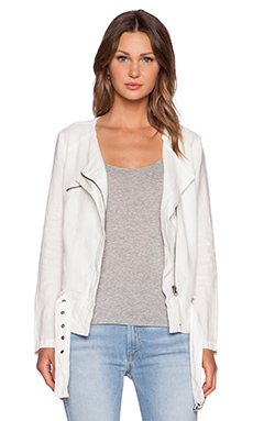 Joie Edda Jacket in Porcelain