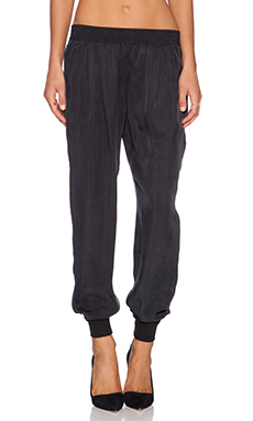 Joie Mariner Pant in Caviar