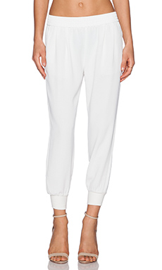 Joie Mariner Crop Pant in Porcelain