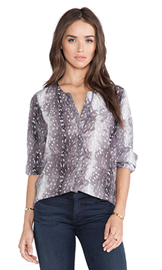 Joie Moema Blouse in Caviar