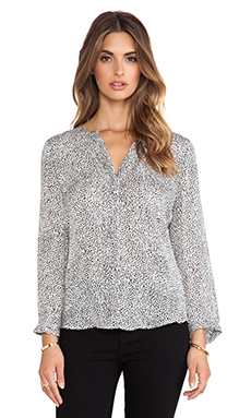 Joie Purine Blouse in Charcoal