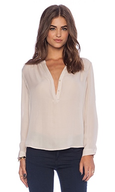 Joie Carita Blouse in Pink Champagne