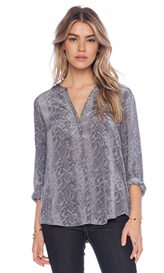 Joie Hanelle Blouse in Winter Smoke