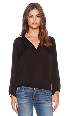 Joie Madrina Blouse in Caviar