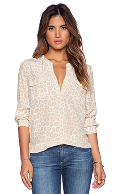 Joie Lolani Blouse in Chai