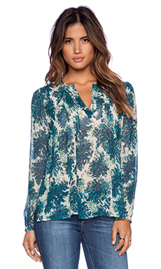Joie Cantoria Blouse in Lagoon
