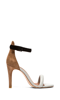 Joie Roxie Heel in Multi Silver