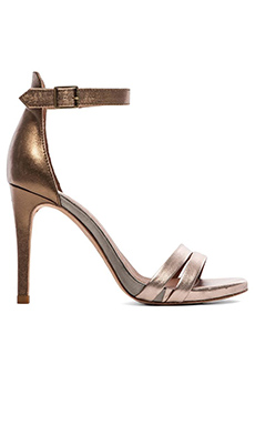 Joie Jena Heel in Bronze, Pewter & Rose Gold