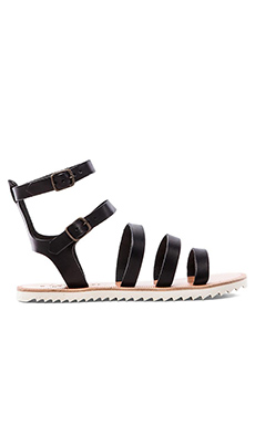 Joie Montezuma Sandal in Black