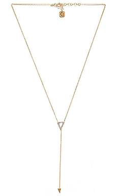 joolz by Martha Calvo Triangle Lariat in Mother of Pearl