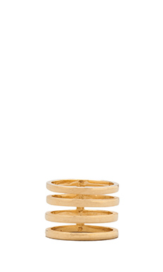 joolz by Martha Calvo 4 Band Ring in Gold