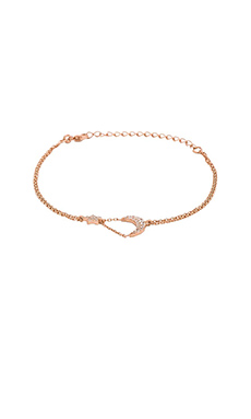 joolz by Martha Calvo Star & Moon Hand chain in Rose Gold