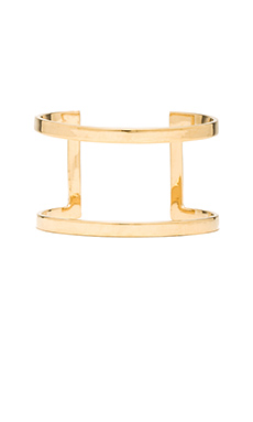 joolz by Martha Calvo Bar Cuff in Gold