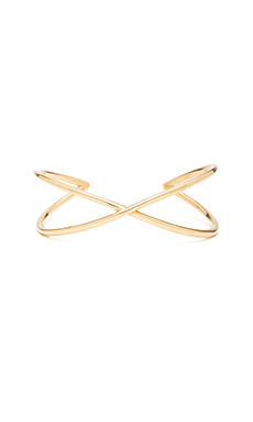 joolz by Martha Calvo X Cuff in Gold