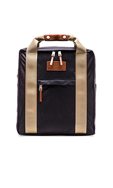 Jack Spade Pilot Nylon Lift Pack in Navy Khaki