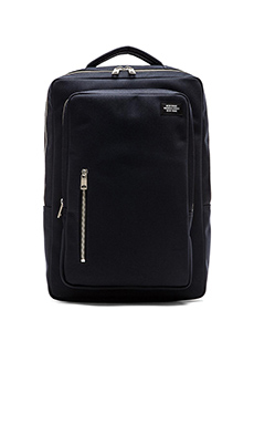 Jack Spade Commuter Nylon Cargo Backpack in Navy