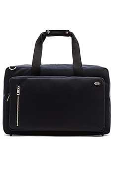 Jack Spade Commuter Nylon Square Duffle in Navy
