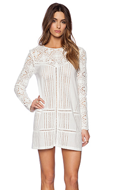 THE JETSET DIARIES Undone Dress in White
