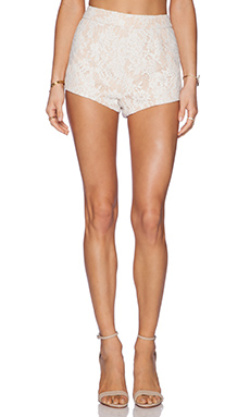 THE JETSET DIARIES Emperor Shorts in White