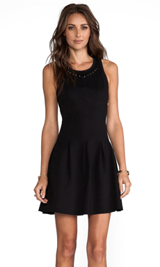 Juicy Couture Charlotte Dress in Pitch Black