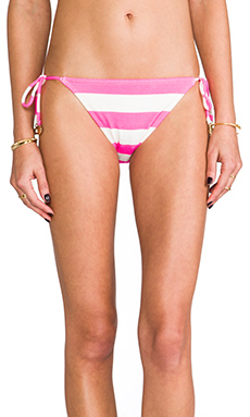 Juicy Couture Sixties Stripe Bottoms in Shell Shock