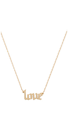 Jennifer Zeuner Nora Necklace in Yellow Vermeil