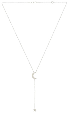Jennifer Zeuner Kasha Necklace in Sterling Silver
