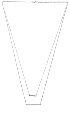Jennifer Zeuner Cynthia Necklace in Sterling Silver