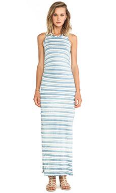 Kain Santa Monica Dress in Vintage Wash Indigo Stripe