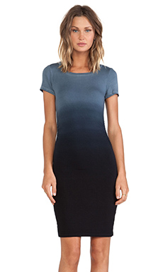 Kain Venice Dress in Black Ombre