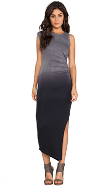 Kain Penny Dress in Black Ombre