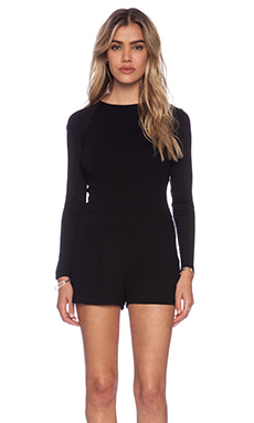 Kain Lena Romper in Black