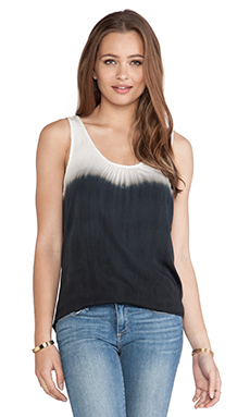 Kain Rowe Top in Black & White