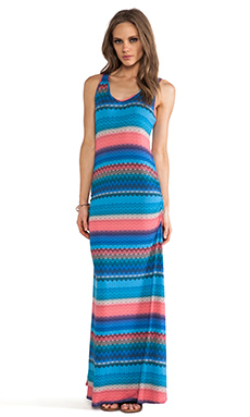 Karina Grimaldi Yory Tank Maxi Dress in Nativa Knit