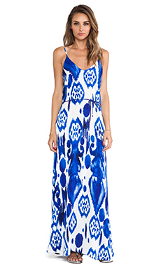 Karina Grimaldi Zeila Maxi Dress in Calico