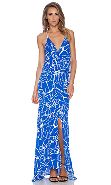 Karina Grimaldi Draco Maxi Dress in Rhodes