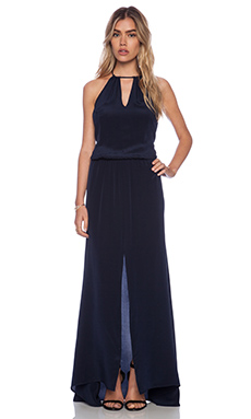 Karina Grimaldi Mirlanda Maxi Dress in Bermuda