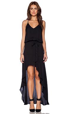 Karina Grimaldi Alma Maxi Dress in Black