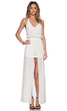 Karina Grimaldi Izola Maxi Dress in Ivory