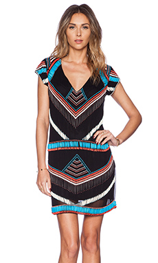 Karina Grimaldi Bala Mini Dress in Multi