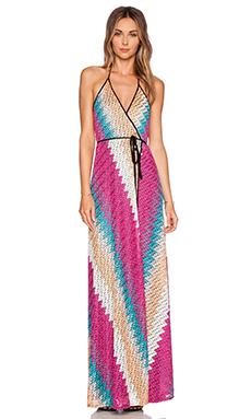 Karina Grimaldi Damian Maxi Dress in Spring Knit