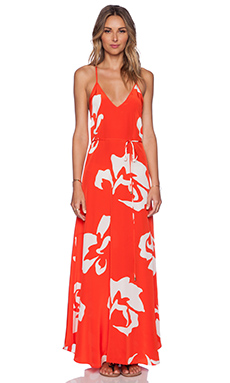 Karina Grimaldi Bolonia Maxi Dress in Ios