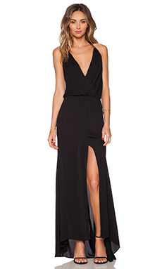 Karina Grimaldi Noah Maxi Dress in Black