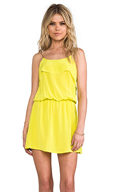 Karina Grimaldi Raffaela Solid Mini in Neon Yellow
