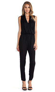 Karina Grimaldi Odella Jumpsuit in Black
