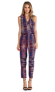 Karina Grimaldi Odella Printed Jumpsuit in Manhattan